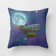 Stellar Exploration Throw Pillow
