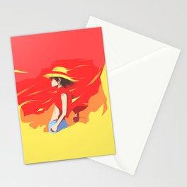 Monkey D Luffy Stationery Cards