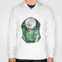 coca cola Hoodies featuring Coca-Cola Life by Kenny Risk