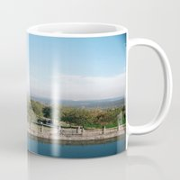 castle Mugs featuring castle by Murphy Mortician