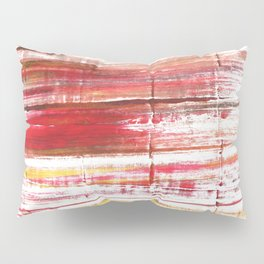 Lavender blush abstract watercolor Pillow Sham