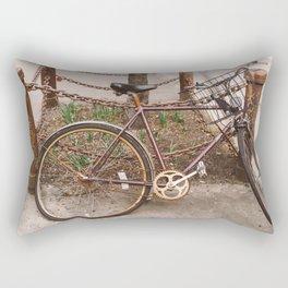 NoLita Bike Rectangular Pillow