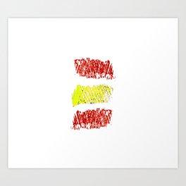 Flag of spain 8-spain,espana, spanish,plus ultra,espanol,Castellano,Madrid,Barcelona Art Print