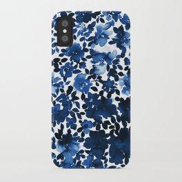 Sophia Floral Blue iPhone Case