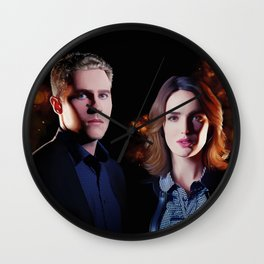 Fitzsimmons - Firelights Wall Clock