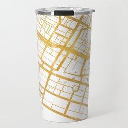 PERTH AUSTRALIA CITY STREET MAP ART Travel Mug