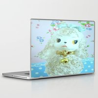 poodle Laptop & iPad Skins featuring Poodle by Vintage  Cuteness