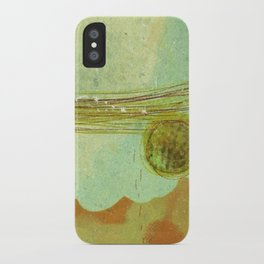 storm at the bay iPhone Case
