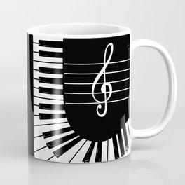Piano Keys I Coffee Mug
