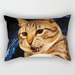 Jump Cat Rectangular Pillow