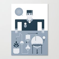 Artificial Science Canvas Print