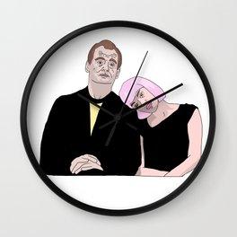 Bob & Charlotte Wall Clock