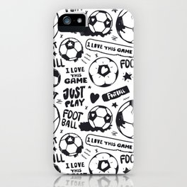 Art Soccer #2 iPhone Case