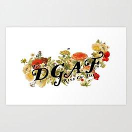 DGAF Day Art Print