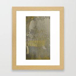 Freckle&Squint2 Framed Art Print