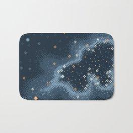 Grey Rift Galaxy (8bit) Bath Mat