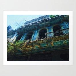 Cuba is Falling | 2015 Art Print