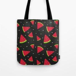 Watermelons in tha dark Tote Bag