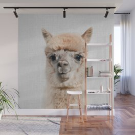 Alpaca - Colorful Wall Mural