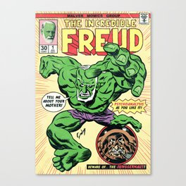 The Incredible Freud Canvas Print