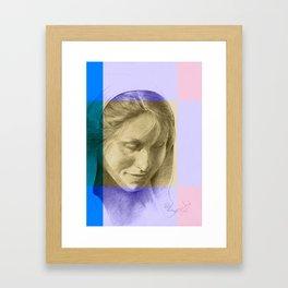 Margriet 08 Framed Art Print