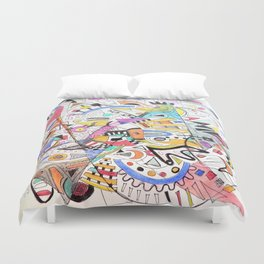 March Bursting Out Duvet Cover