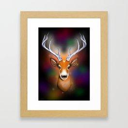 Christmas Woodland Beast Framed Art Print