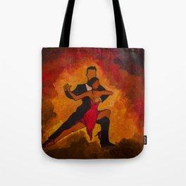 The Tango Dance Tote Bag