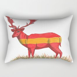 SPANISH Fallow Deer Rectangular Pillow