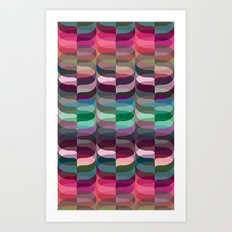 Geometric Abstraction #7 Art Print