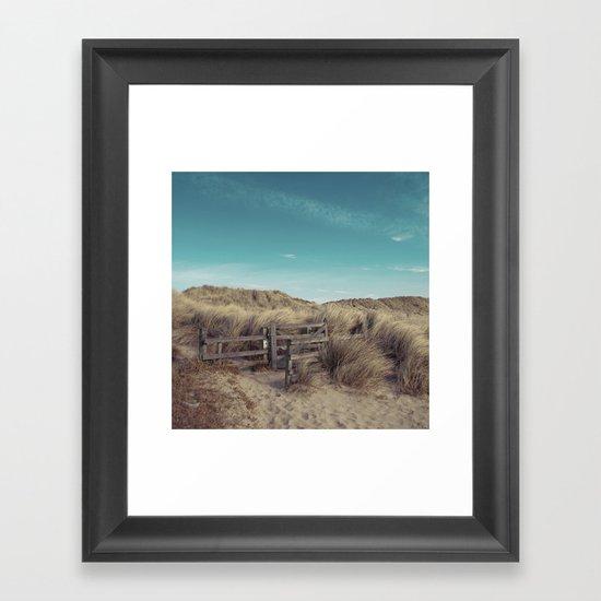 can you hear it calling?.. Framed Art Print
