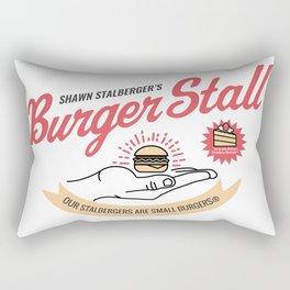 Burger Stall Rectangular Pillow