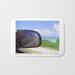 Rear View Mirror Bath Mat