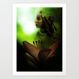 In the Secret of Your Glance Art Print