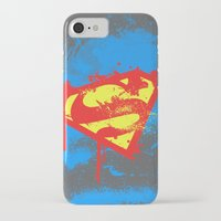superheros iPhone & iPod Cases featuring Super S by Sophie Rousseau