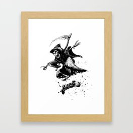 Death Skates! Framed Art Print