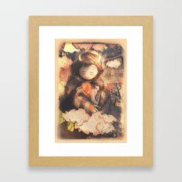 There is still some time - [Don't Go] Framed Art Print