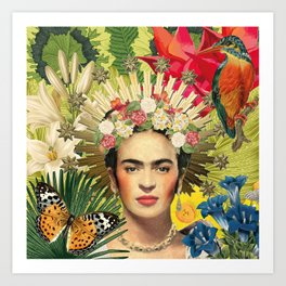 Frida Kahlo XI Art Print