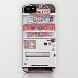 Vending Machine, Japan iPhone Case