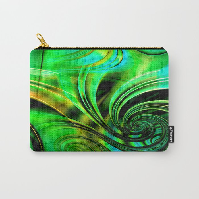 Curls Deluxe Green Carry-All Pouch