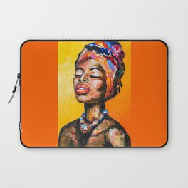 Black Magic Woman Laptop Sleeve
