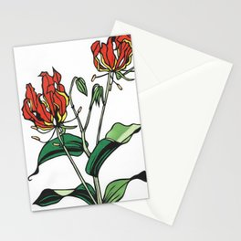 Kitsune Yuri Stationery Cards