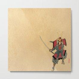 Honorable Warrior Metal Print