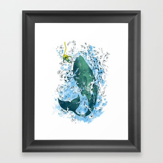 shall we dance? Framed Art Print