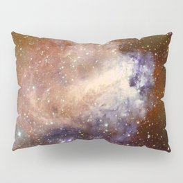 Deep-space nebula Pillow Sham