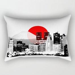 Modern Japan - Tokyo - Shinjuku Rectangular Pillow