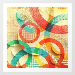 Huller om buller Art Print