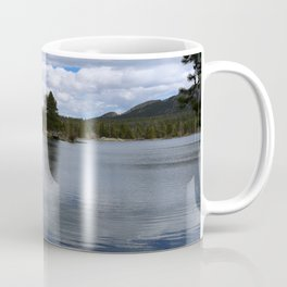 A Visit At Sprague Lake Coffee Mug