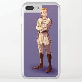 Young Kenobi Clear iPhone Case
