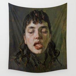 GORGON'S HEAD - WILHELM TRUEBNER Wall Tapestry